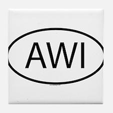 AWI Tile Coaster