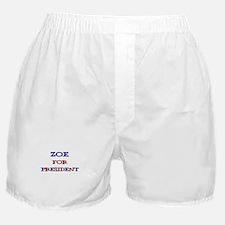 Zoe for President Boxer Shorts