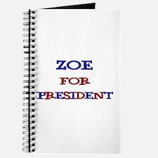 Zoe for President Journal