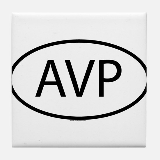 AVP Tile Coaster