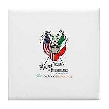 Tile Coaster w/ AOH Logo