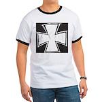 Iron Cross Sketch Ringer T