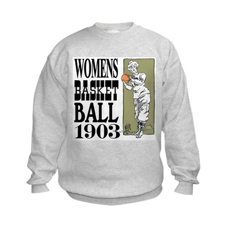 Womens Basketball 1903 Kids Sweatshirt