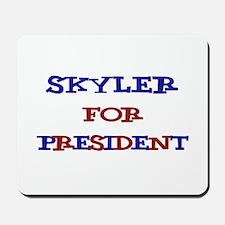 Skyler for President Mousepad