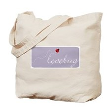 Lovebug (purple) Tote Bag