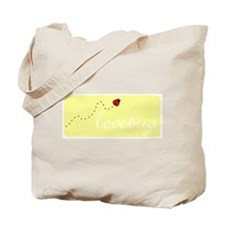 Lovebug (yellow) Tote Bag