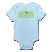 Lovebug (green) Infant Creeper