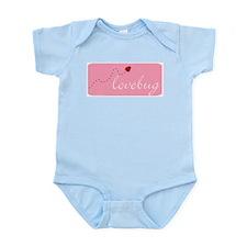 Lovebug (pink) Infant Creeper
