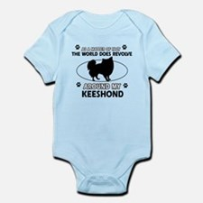 Keeshond Design Body Suit