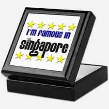 I'm Famous in Singapore Keepsake Box