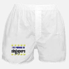 I'm Famous in Singapore Boxer Shorts