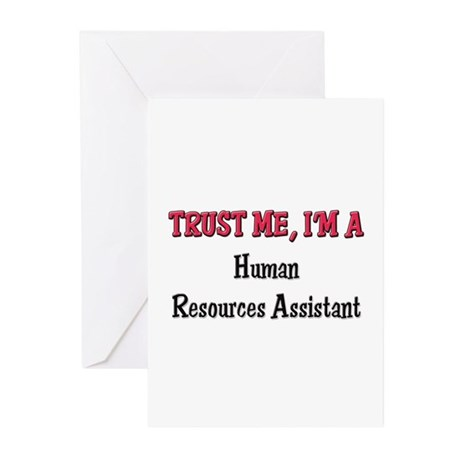 Trust Me I'm a Human Resources Assistant Greeting