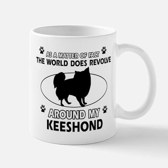Keeshond Design Mugs