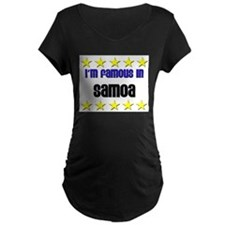 I'm Famous in Samoa T-Shirt