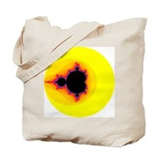 Mandelbrot Set Tote Bag