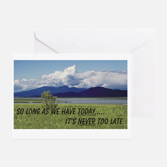 WE have TODAY Greeting Card