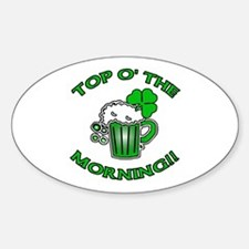 Top O'the Morning Decal