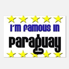 I'm Famous in Paraguay Postcards (Package of 8)