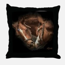 Horse Lover, Pony Throw Pillow