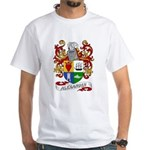 Alexander Coat of Arms White T-Shirt