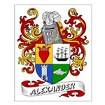 Alexander Coat of Arms Small Poster