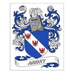 Amory Coat of Arms Small Poster