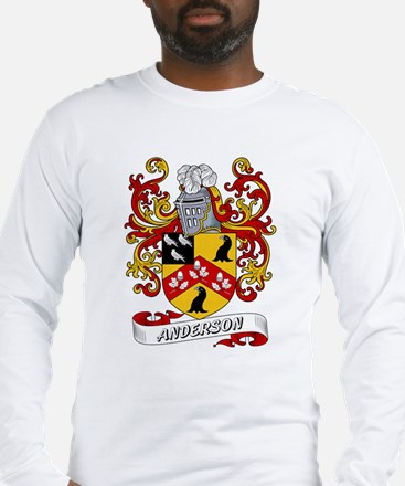 Anderson Coat of Arms Long Sleeve T-Shirt
