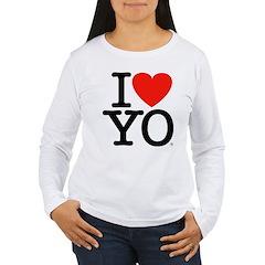 I (Heart) YO Women's Long Sleeve T-Shirt