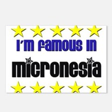 I'm Famous in Micronesia Postcards (Package of 8)