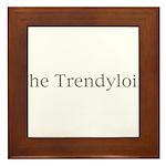 The Trendyloin Framed Tile