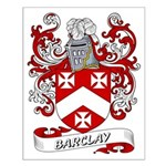Barclay Coat of Arms Small Poster