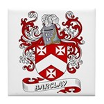 Barclay Coat of Arms Tile Coaster