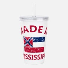 Mississippi City Desig Acrylic Double-wall Tumbler