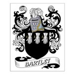 Barlet Coat of Arms Small Poster