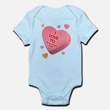 I Love YO-Candy Infant Bodysuit
