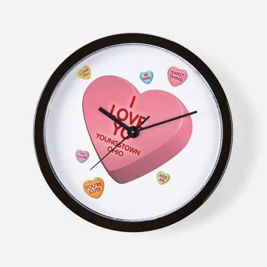 I Love YO-Candy Wall Clock