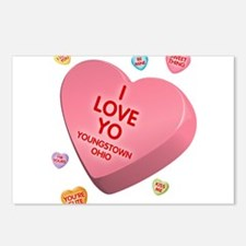 I Love YO-Candy Postcards (Package of 8)