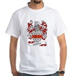 Barton Coat of Arms White T-Shirt