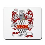 Barton Coat of Arms Mousepad