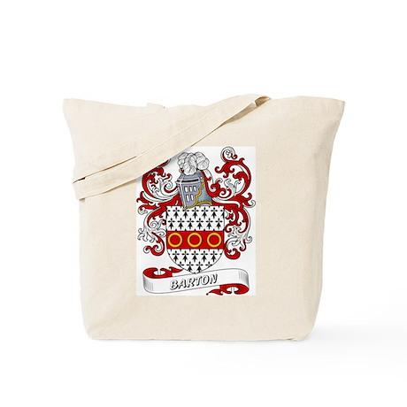 Barton Coat of Arms Tote Bag