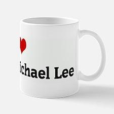 I Love Andrew Michael Lee Mug