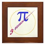 Pi-receding Framed Tile