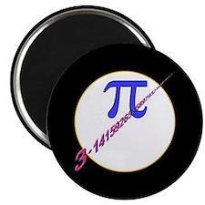 "Pi-receding 2.25"" Magnet (10 pack)"