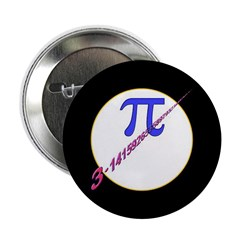 "Pi-receding 2.25"" Button (10 pack)"
