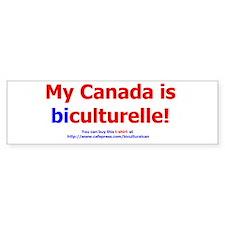 Biculturalisme Bumper Bumper Bumper Sticker