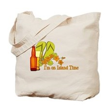 I'm On Island Time Tote Bag