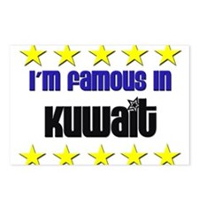 I'm Famous in Kuwait Postcards (Package of 8)