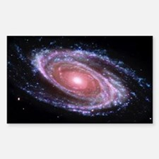 Pink Spiral Galaxy Decal