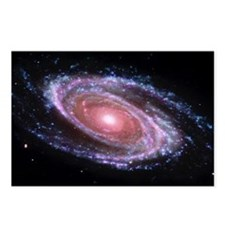 Pink Spiral Galaxy Postcards (Package of 8)