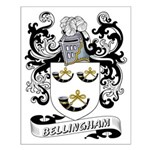 Bellingham Coat of Arms Small Poster